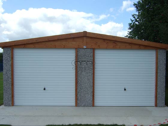 Apex roof double garages for Double garages