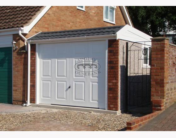 Lean To Shaped Garages